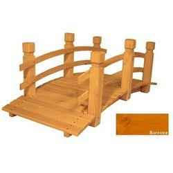 Most drewniany ogrodowy - Sosna - 149 cm
