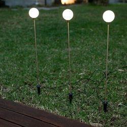 New garden lampa ogrodowa bruna 80 3 solar miedziana - led marki Sofa.pl