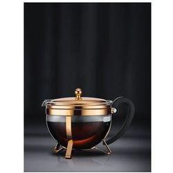 -zaparzacz tłokowy do herbaty 1,3l miedziany marki Bodum