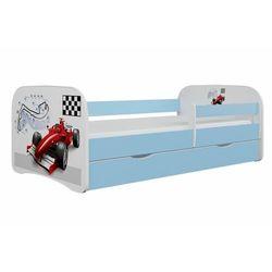 Łóżko dla dziecka, barierka, babydreams, formuła, niebieskie