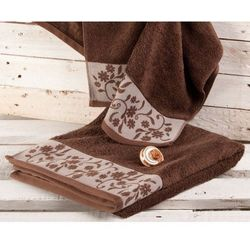 Dekoria  ręcznik castelo brązowy, 70x140cm