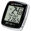 Sigma 02120 licznik rowerowy bc 12.12 przewodowy, pl menu, z termometrem (4016224021208)