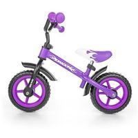 Milly mally Rowerek biegowy  dragon z hamulcem purple