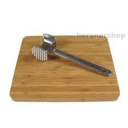 Kuchenna deska bambusowa + tłuczek marki Tadar