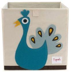 Pudełko na zabawki - paw - sprawdź w wybranym sklepie