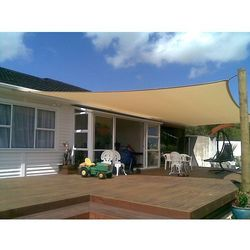 Home&garden Zacieniacz przeciwsłoneczny kwadratowy 360 cm beige