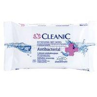 Cleanic Antibacterial odświeżające chusteczki nawilżane + do każdego zamówienia upominek.