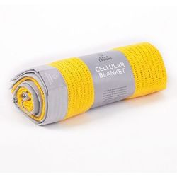 Mama Designs Kocyk Tkany Yellow Grey 70x90, MD1433