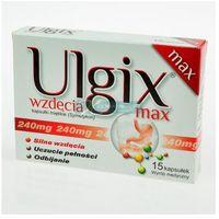 Ulgix wzdęcia Max x 15 kaps (5904055002871)
