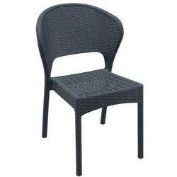 Krzesło ogrodowe na taras Daytona Siesta szare z kategorii Krzesła ogrodowe