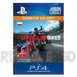 DriveClub - Bikes DLC [kod aktywacyjny] - produkt z kategorii- Pozostałe akcesoria do konsoli