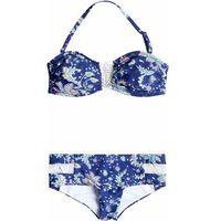 strój kąpielowy ROXY - Bandeau/Shorty Paisley Song Combo Sailor Blue (BSQ6)