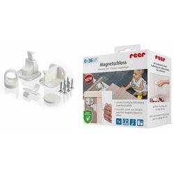 Zabezpieczenie szafek magnetyczny zamek 1szt REER - 1szt (4013283510308)