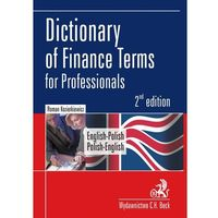 Dictionary of Finance termsfor professionals english-polish polish-english, Kozierkiewicz Roman