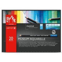 Kredki Caran d'Ache Museum Aquarelle 20 Kolorów Marine, CA3510920