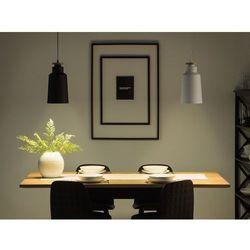 Lampa wisząca czarno-biała NEVA