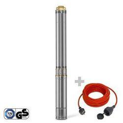 Trotec Pompa głębinowa tdp 7500 e + przedłużacz jakościowy 15 m / 230 v / 1,5 mm²
