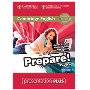 Cambridge university press Cambridge english prepare! 4 presentation plus dvd
