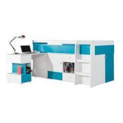 Łóżko piętrowe z biurkiem Mobi MO21