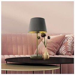 Lysne Lampka z abażurem na stolik siena gold