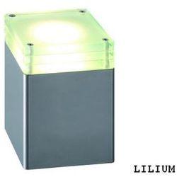 Lampa ogrodowa stojąca POLNED Lilium szary - produkt z kategorii- Lampy ogrodowe