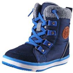 Buty zimowe REIMA ReimaTec FREDDO granatowe - bez rzepów