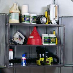 Trzypoziomowa półka do domków narzędziowych Arrow