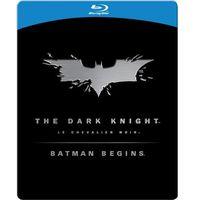 Batman Początek/Mroczny Rycerz. Pakiet kolekcjonerski - steelbook (3xBlu-Ray) - Christopher Nolan