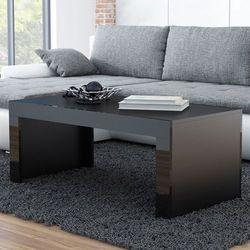 Stolik kawowy tucson 120 - czarny marki High glossy furniture