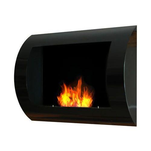 Biokominek dekoracyjny 60x45 cm czarny Convex by , EcoFire z ExitoDesign