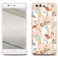 Fantastic Case - Huawei P10 Plus - etui na telefon Fantastic Case - różowe flamingi