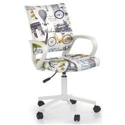 Fotel młodzieżowy ator - biały z paryżem marki Producent: profeos