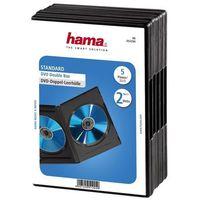 Hama Pudełko  dvd double box (5 sztuk) (4007249512949)