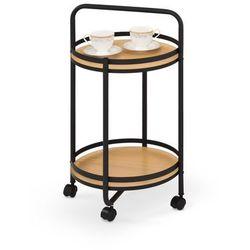 BAR11 stolik barowy czarny / naturalny (1p=1szt), H_2010001169925