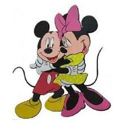 Disney - dekoracje ścienne - licencja marko Dekoracja ścienna disney mickey i minnie 2