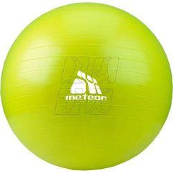 Piłka gimnastyczna Meteor 55 cm zielona 31171