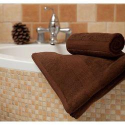 Dekoria Ręcznik Evora brązowy, 70x140 cm