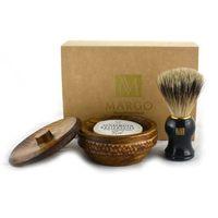 Zestaw prezentowy pędzel Super Badger + mydło z lanoliną w drewnianym tygielku, kup u jednego z partner