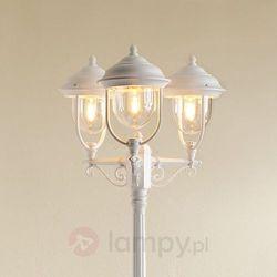 Konstsmide Parma lampy stojące Biały, 1-punktowy - Klasyczny - Obszar zewnętrzny - Parma - Czas dostawy: od 8-12 dni roboczych (7318307227253)