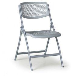 Krzesło składane CLICK, szare