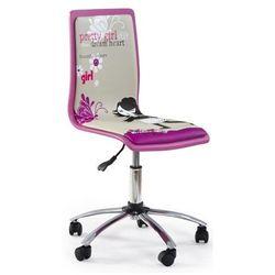 Fotel młodzieżowy Gimmer - fioletowy, V-CH-FUN_1-FOT