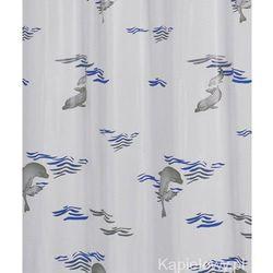 Ridder Delphin zasłona prysznicowa z pcv 180x200 cm 130303