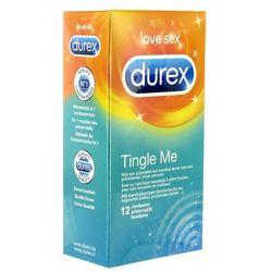 Prezerwatywy stymulujące - Durex Tingle Me Condoms 12 szt, kup u jednego z partnerów