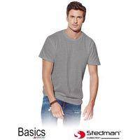 Szary t-shirt męski STEDMAN ST2000_GYH