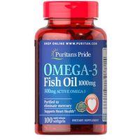 Olej rybi Omega3 1000mg Omega3 fish oil 100 kapsułek Puritan's Pride
