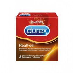 Prezerwatywy Durex Real Feel A3 nielateksowe - produkt z kategorii- Prezerwatywy