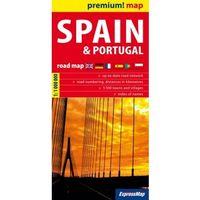 Spain and Portugal road map 1:1 000 000 - DODATKOWO 10% RABATU i WYSYŁKA 24H!, oprawa miękka