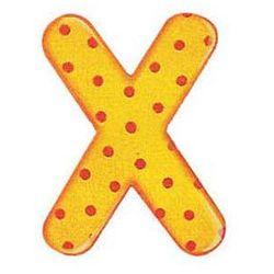SELECTA Drewniana literka X - sprawdź w wybranym sklepie