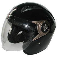 Kask motocyklowy MOTORQ Torq-o8 otwarty czarny połysk (rozmiar L)