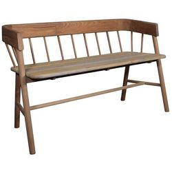 HKliving Ławka drewniana ogrodowa HAV0011 (8718469742677)